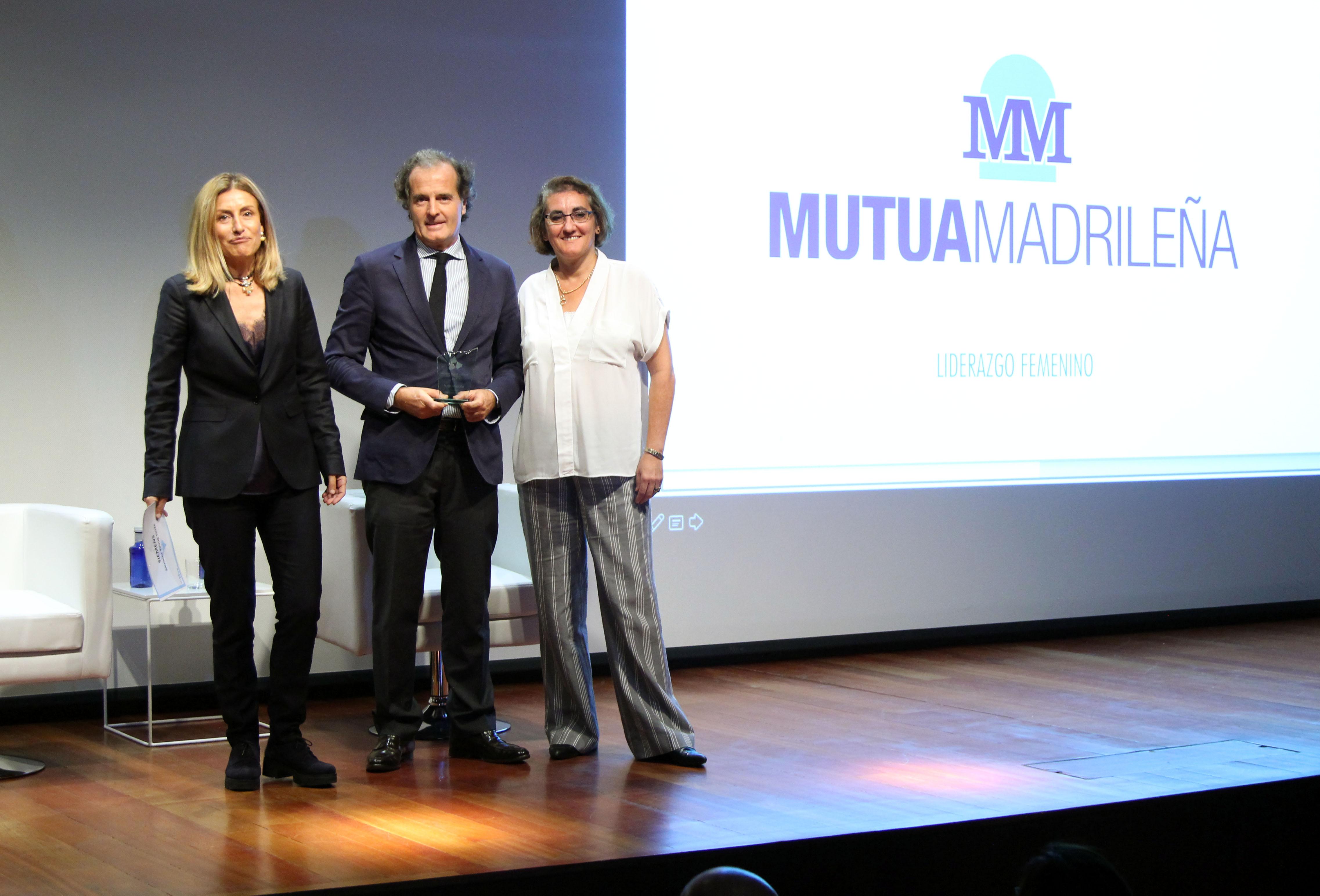 Mutua Madrileña es premiada por su programa 'Liderazgo Femenino' que promueve la igualdad en la empresa