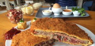 cesar roman, sidreria, gastronomia asturiana, cachopo, a cañada