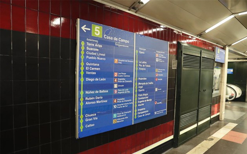 Linea 5 Metro Madrid