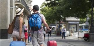 turistas agosto madrid
