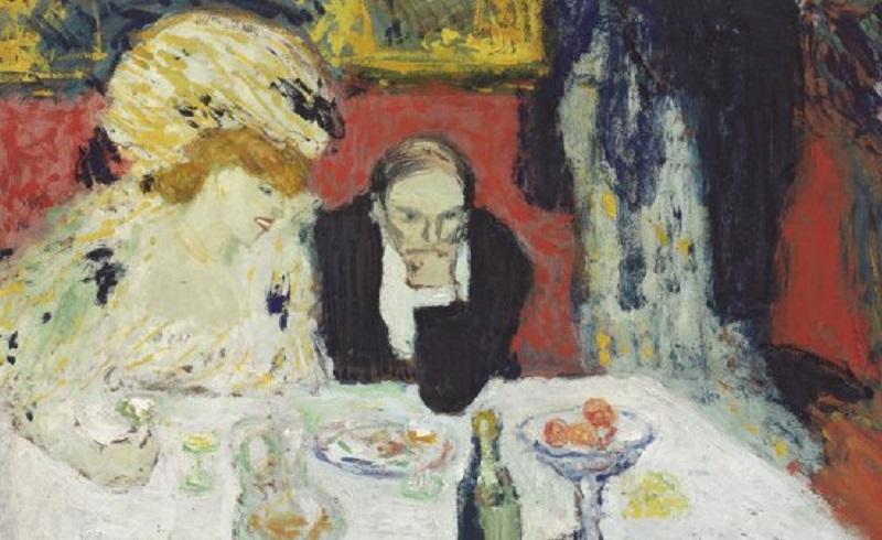 Piccaso y Toulouse Lautrec en el museo Thyssen-Bornemisza