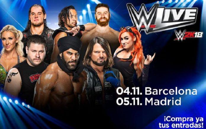 WWE Live 2017 en el Palacio de los Deportes