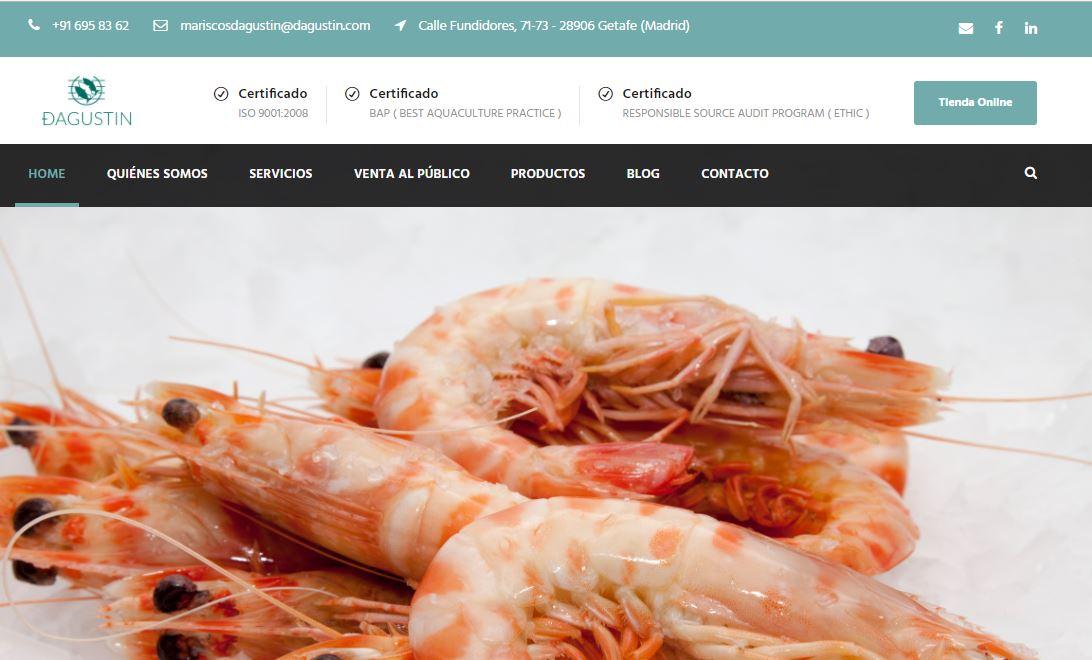 distribuidora de pescados y mariscos dagustin