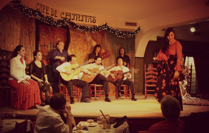 Tablao Flamenco en el Café de Chinitas