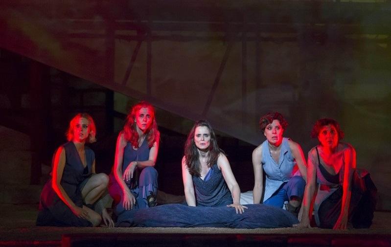 Troyanas en el Teatro Español