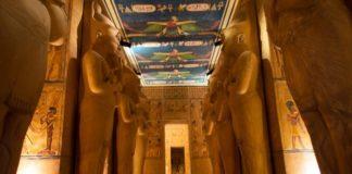 El templo de Abu Simbel en Alcobendas