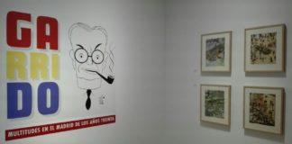 Exposición sobre el dibujante Manuel Garrido