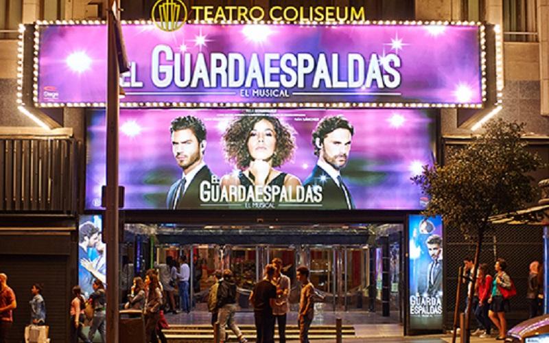 Musical El Guardaespaldas en Teatro Coliseum