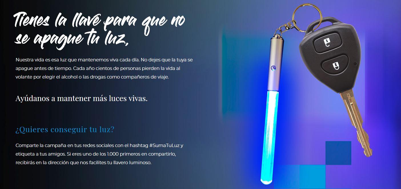 Madrid, ciudad elegida para la proyección de la campaña #SumatuLuz del Ministerio del Interior y Fundación Abertis