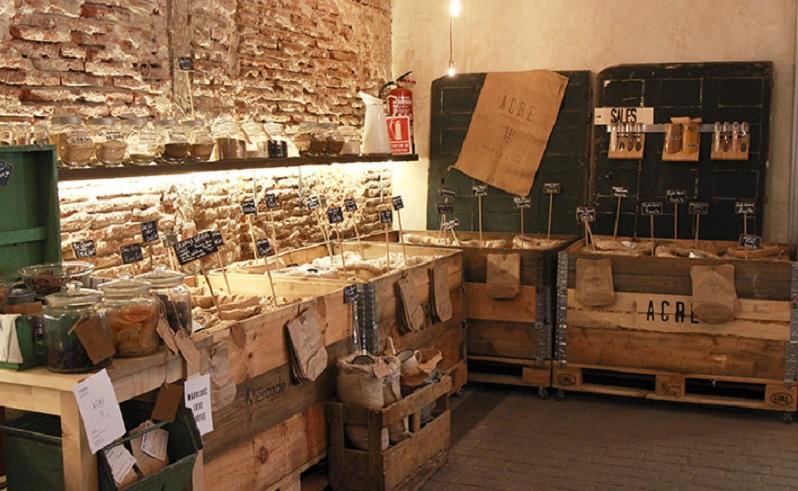 mercado amish llamado Acre