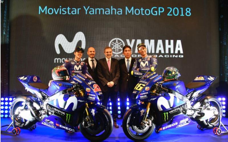 Telefónica. Movistar Yamaha MotoGP 2018