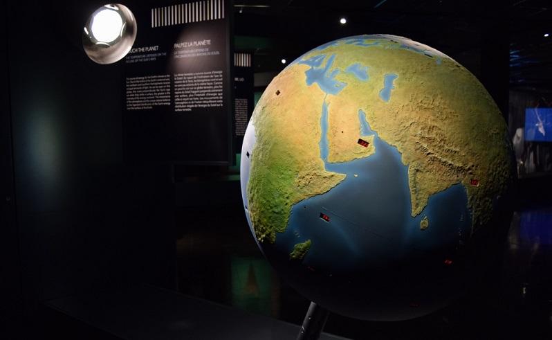 cambio climático en el Planetario