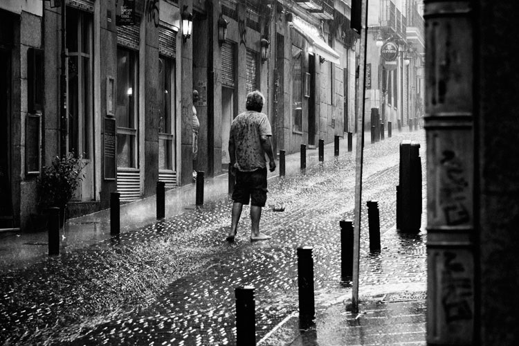 El flaneur de Madrid por Nacho Gil