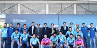 Movistar Inter. Acto homenaje en Distrito Telefónica