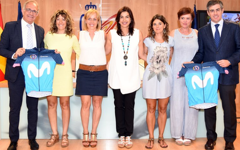 Movistar. Women in Bike
