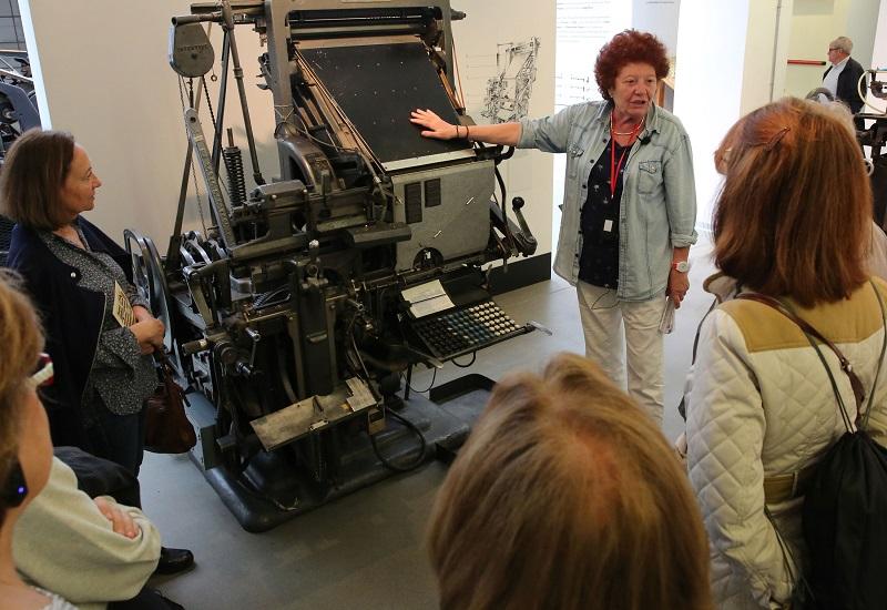 Exposición sobre la escritura en la Imprenta Municipal