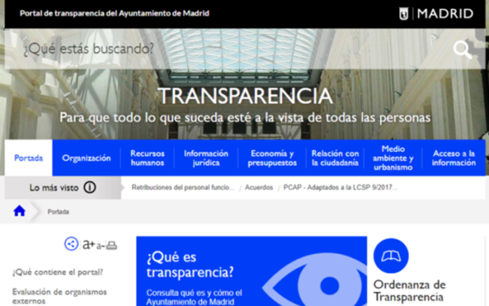 portal transparencia madrid