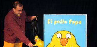 Los títeres de El Pollo Pepe
