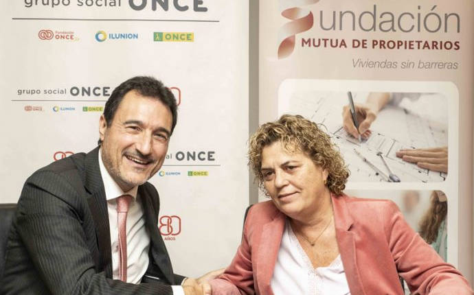Fundación Mutua de Propietarios y Fundación ONCE unen fuerzas