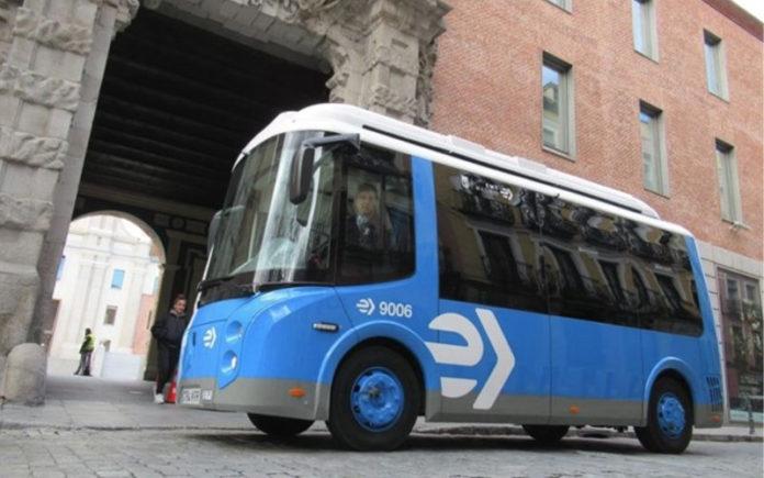 minibuses eléctricos EMT