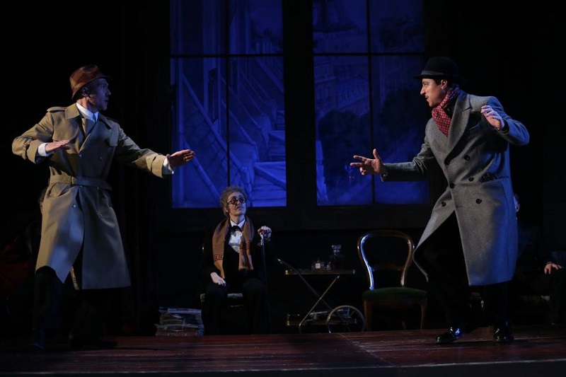 Nekrassov de Sartre en el Teatro de la Abadía