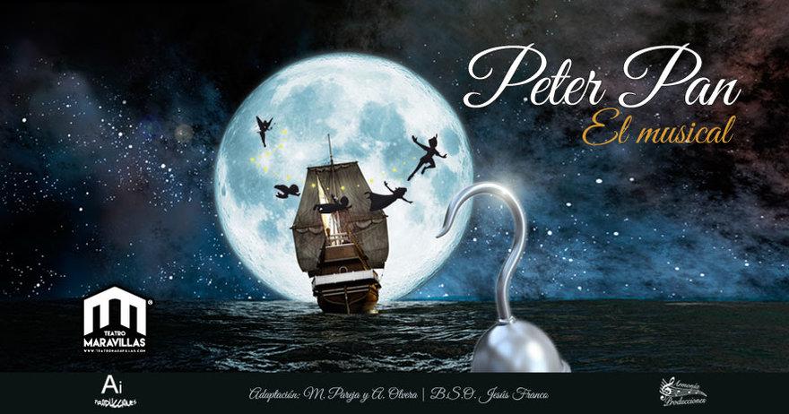 El musical de Peter Pan en el Teatro Maravillas