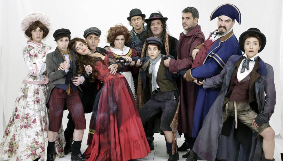 El musical Oliver Twist en el Teatro Sanpol