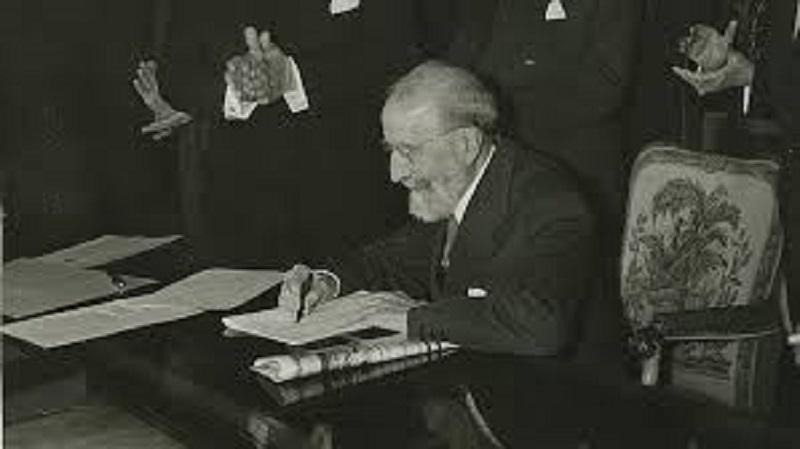 Menéndez Pidal en la Biblioteca Histórica