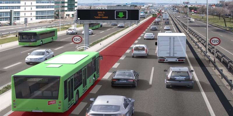 Luz verde del Gobierno al Bus-VAO para la A-2 en Madrid