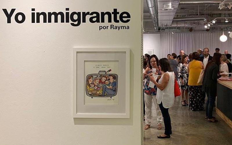 Rayma Suprani exposicion yo inmigrante