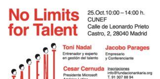 Toni Nadal, César Cernuda y Jacobo Parages para ofrecer inspiración y orientación a profesionales y estudiantes universitarios