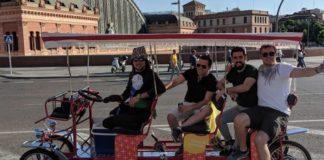 beer bike madrid ocio