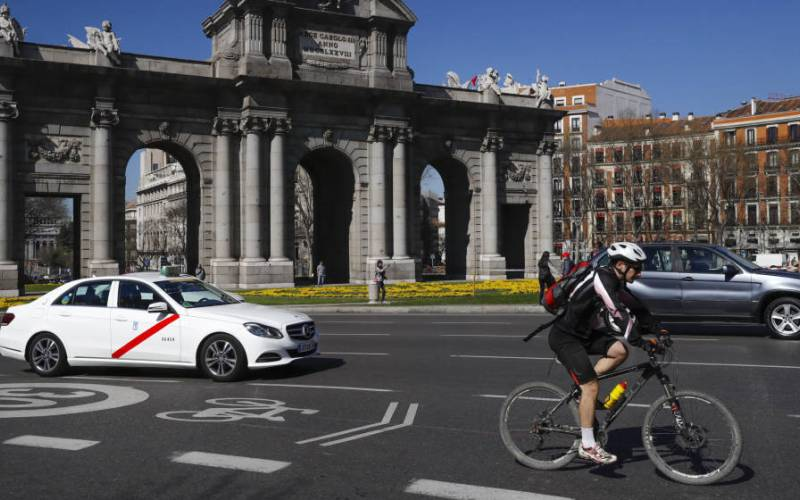 bici en madrid