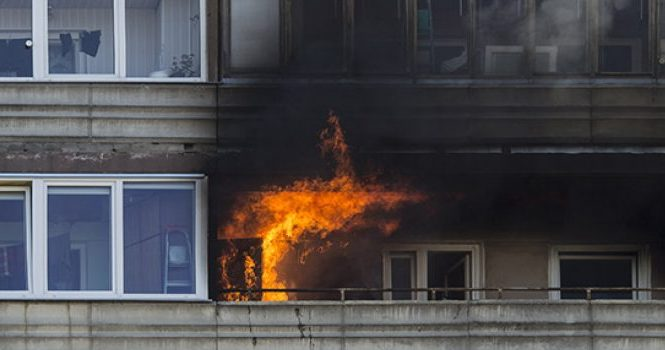 como actuar durante incendio