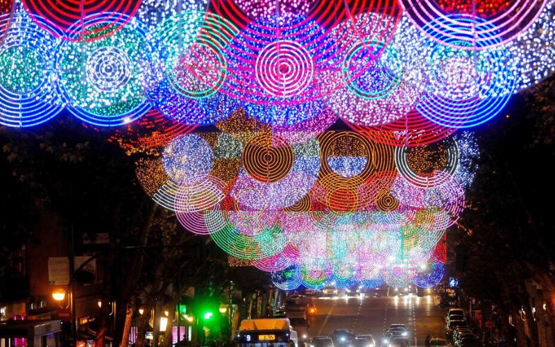 luces navidad madrid, adornos navidad madrid, luces navidad
