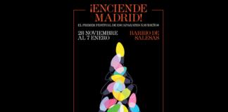 enciende madrid, festival de escaparates, escaparates navideños madrid