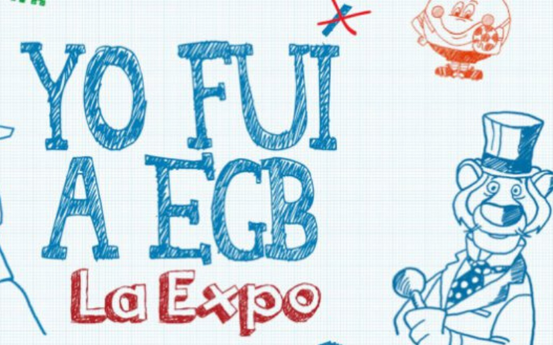 yo fui a egb, egb expo, exposicion egb madrid