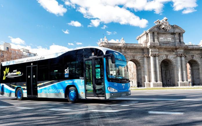 bus cero emisiones, bus cero emisiones madrid, autobus cero emisiones centro madrid