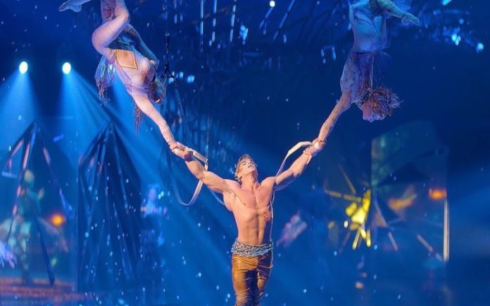 cirque du soleil cuarentena