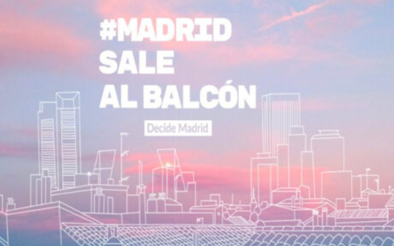 madrid sale al balcon