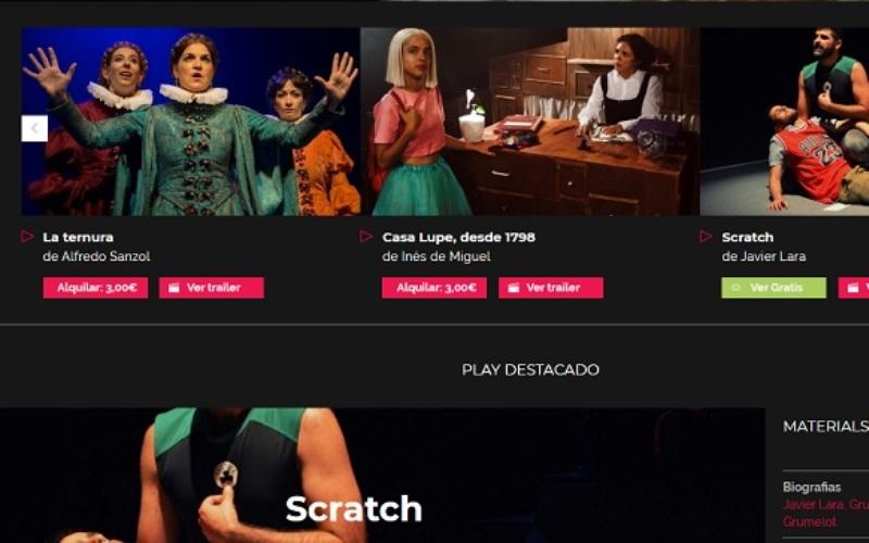 alltheater teatro on demand