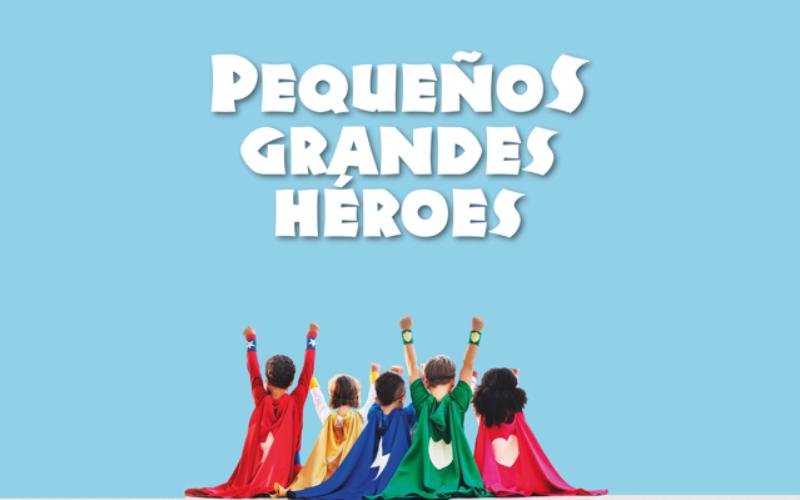 concurso de dibujo pequeños grandes heroes