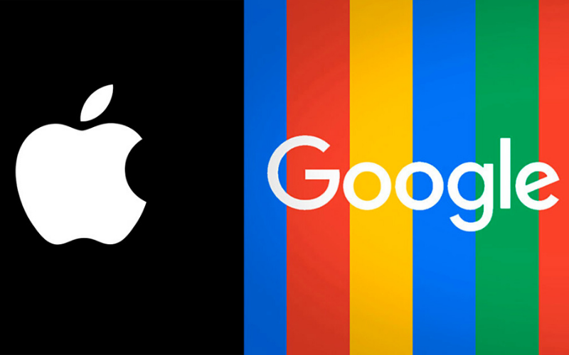apple, google, aplicacion exposicion apple y google