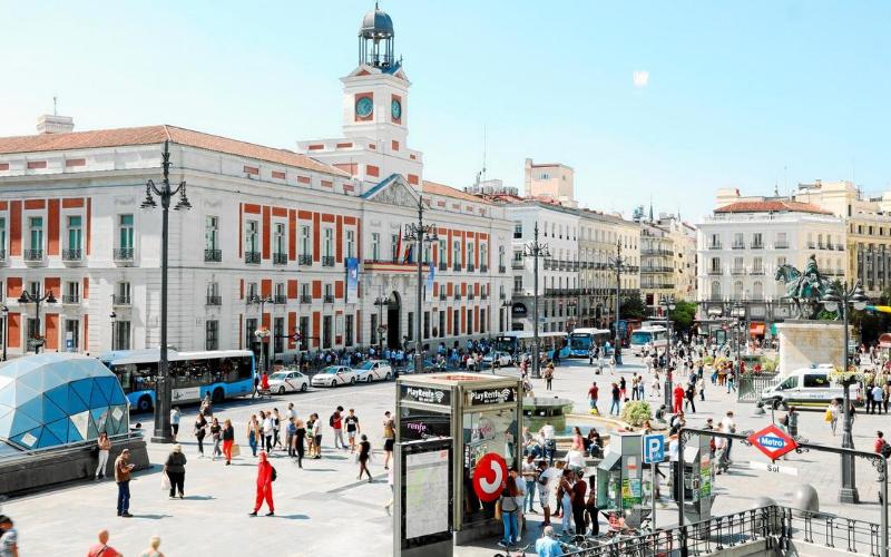 peatonalizacion plaza sol