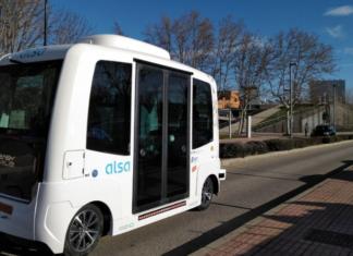 autobus sin conductor universidad autonoma de madrid