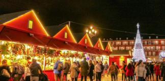mercado navideño madrid