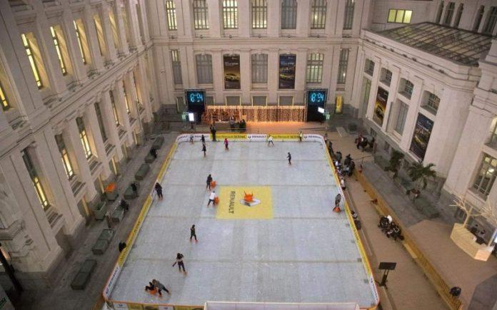 pista de hielo centrocentro