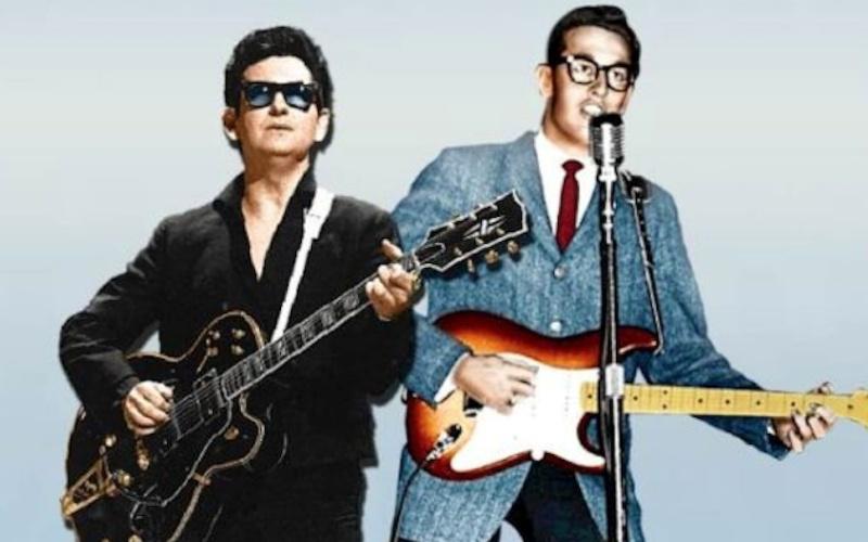 Roy Orbison y Buddy Holly