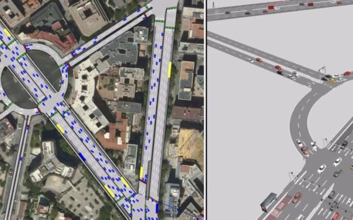 simulador de movilidad madrid