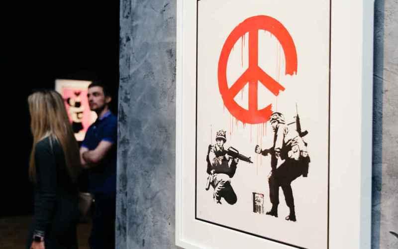 banksy circulo de bellas artes